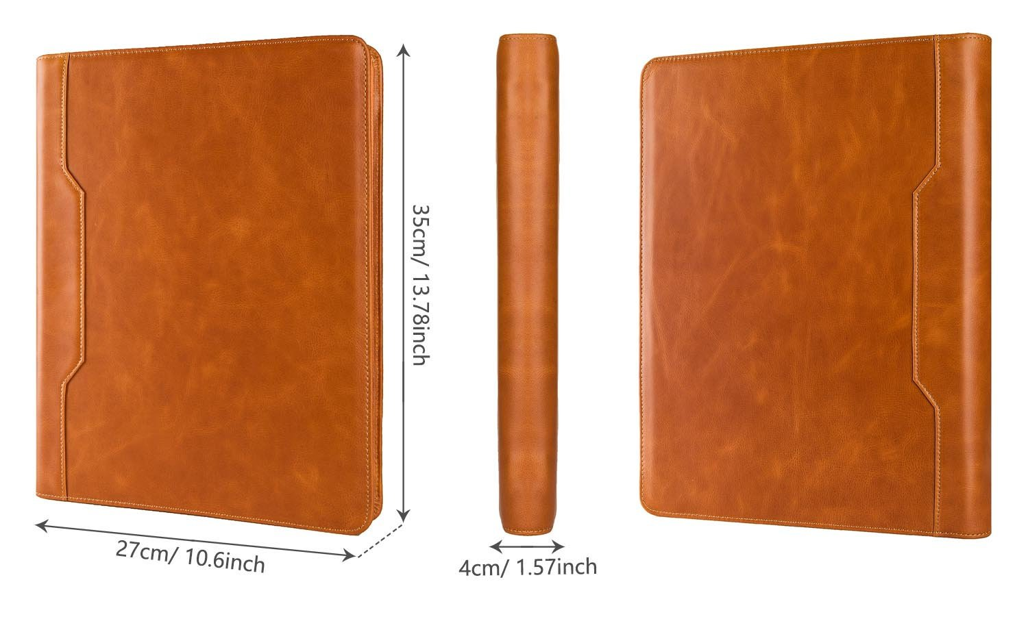 3 Cincin Pengikat Kunci Zip File Folder Organizer Dokumen Tas untuk MacBook Pro 13/Macbook Air 13 ''/ MACBOOK AIR 11