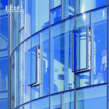 Aluminium Curtain Glass Wall Details Dwg, View aluminium curtain wall  details dwg, EEHE Product Details from Guangdong EHE Doors And Windows