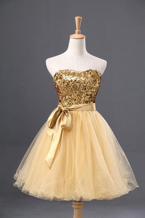 21 Elegant Gold Color Dresses Womens Dresses Playzoa Com