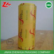 pvc cling film plastic stretch film food wraping film clear food cover