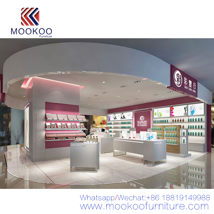 Olay Luxury Cosmetics Shop Interior Design