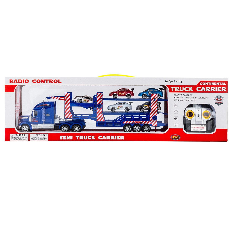Buy Remote Control Rc Semi Trailer Truck With Race Car Radio