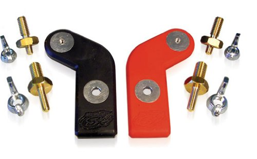 """XS Power 554 I-BAR Marine Top Terminal Adaptor with 5/16"""" and 3/8"""" Studs"""