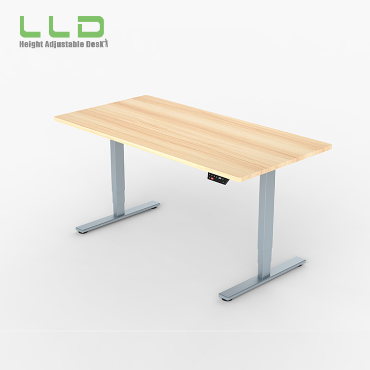 Intelligent height adjustable table top sit / stand executive riser desk legs