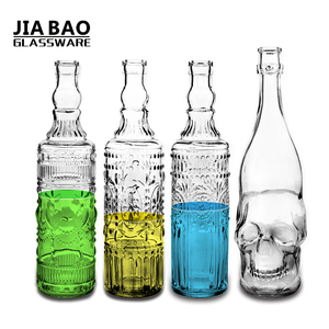 1 liter unique vodka drinking glass bottle GB46021000KLT