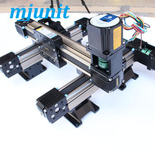 mjunit Low noise Linear Guide- Guide Rail - Dual Rail Linear Guide- Inner-shafted Belt-drived Type laser engraving