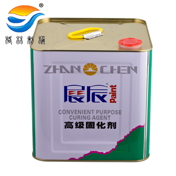 tinplate pail 10L paint coating square lubricant packing bucket