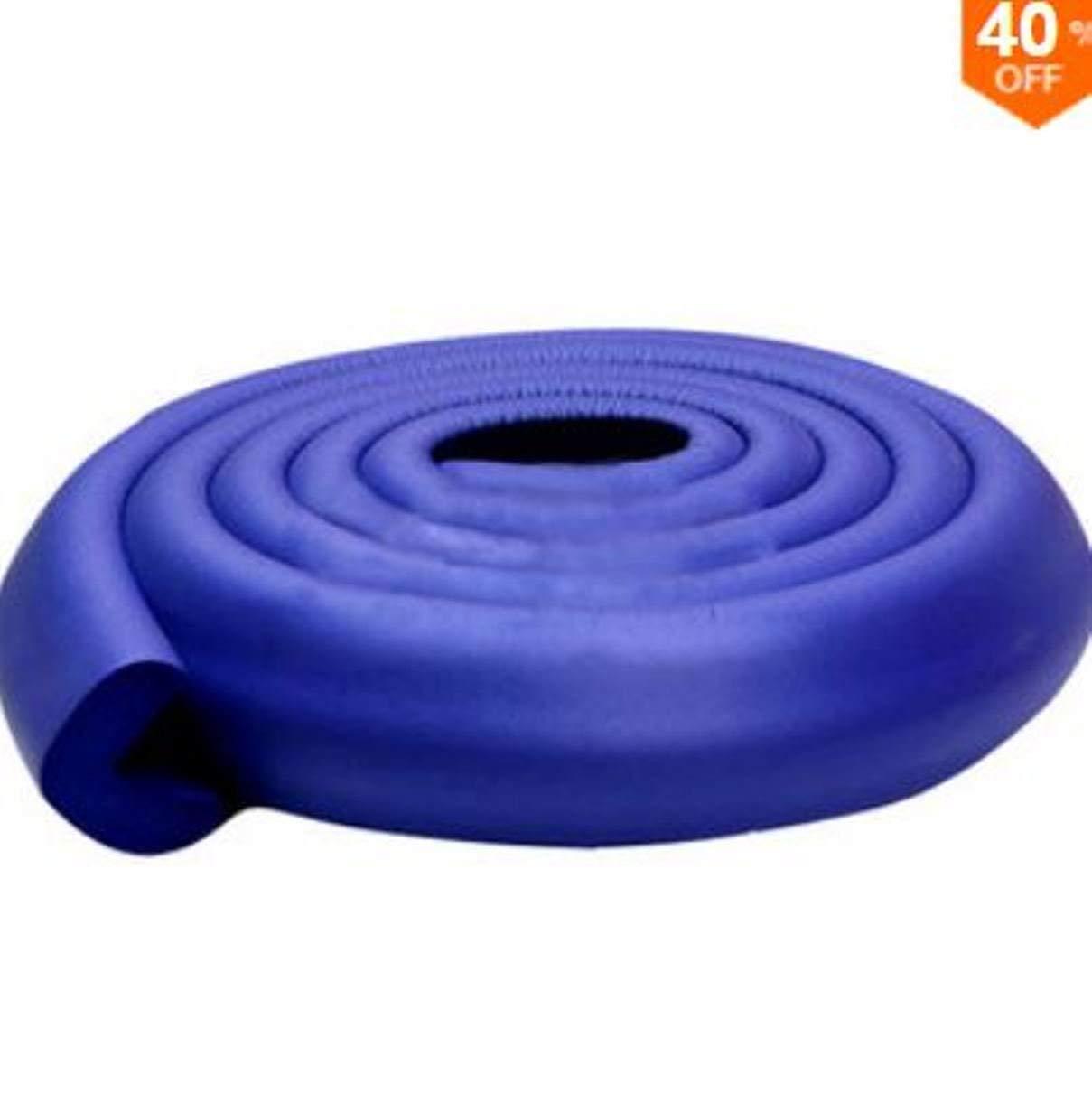 UL BC-SP01 200CM L Shape Thicken Baby Safety Corner Protector Edge Cushion (purple)