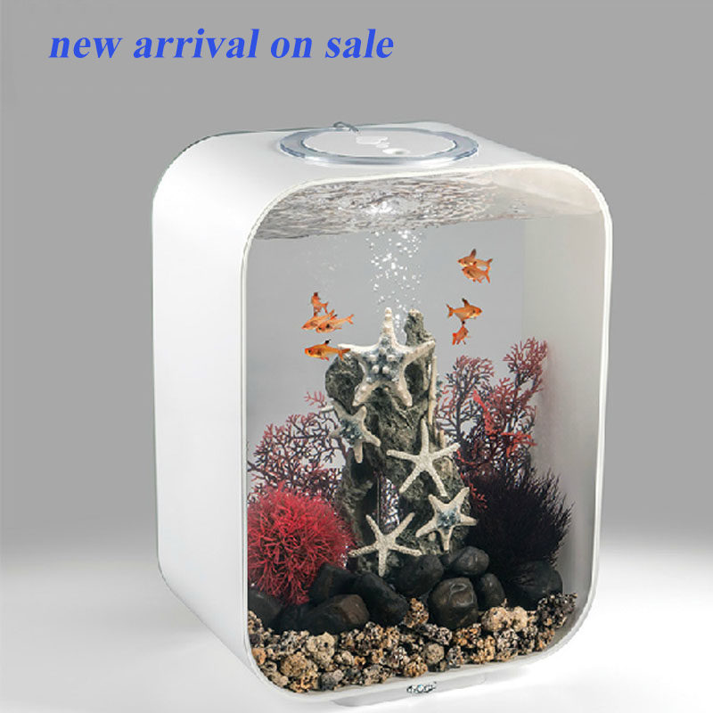 Square modern design large acrylic betta fish tanks aquarium