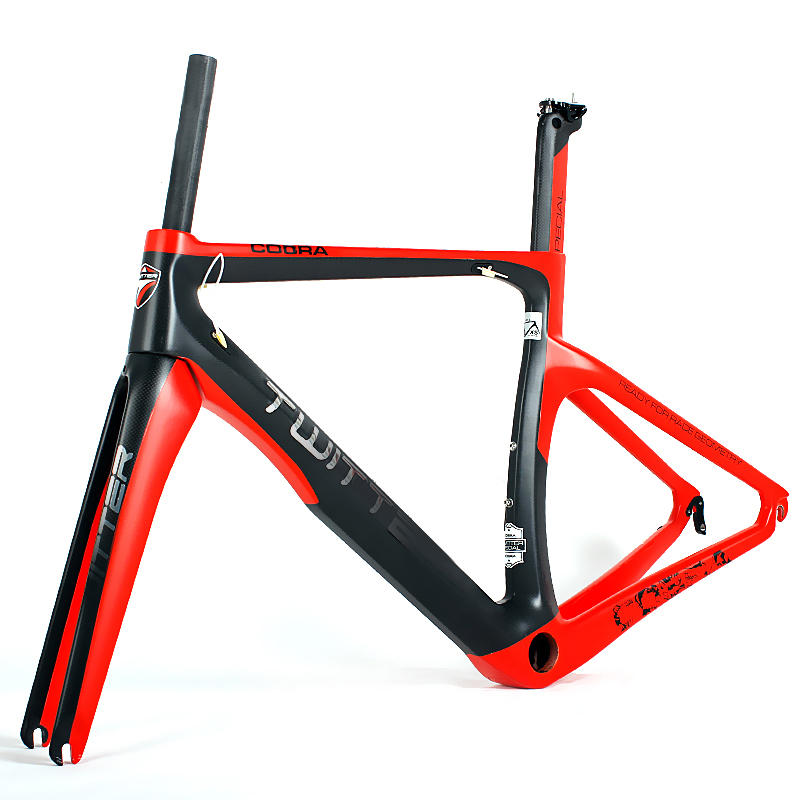 China factory price supper carbon t900 700c carbon road bike frame