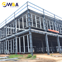(HFW-33)China Prefab Steel Construction Workshop as Industrial Buildings (Steel Structure)