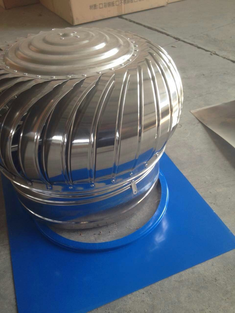 stainless steel wind driven turbine air ventilator/roof fan exhaust