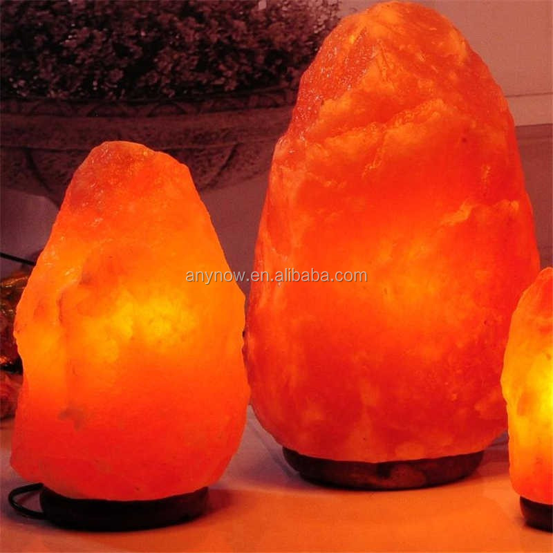 Himalayan Rock Crystal Salt lamp for Cleaning Air