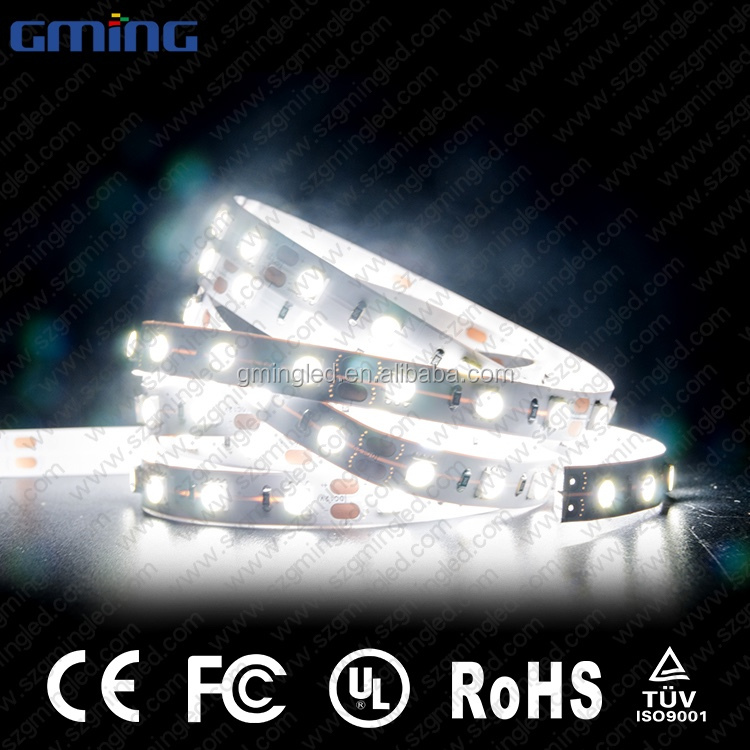 Premium Quality Waterproof DC12V 28.8W/M Warm White 3000K CRI 90 10MM 5M/Roll Flexible 5050 LED Strip Light