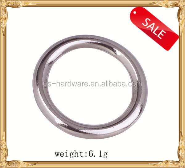 Popular metal ring in bag parts and accessories, metal ring for belt, metal buckles factory, JL-381
