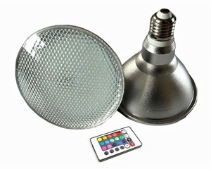 IP65 high quality e26 e27 10w spotlight color changing par30 led