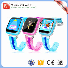 Good quality OLED display cheap kids smart gps watch with gps and phone