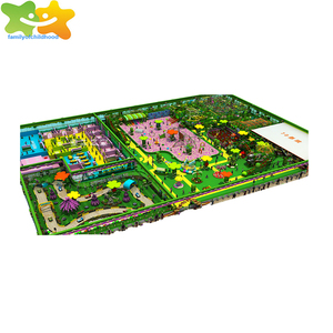 Large amusement park children commercial indoor playground equipment