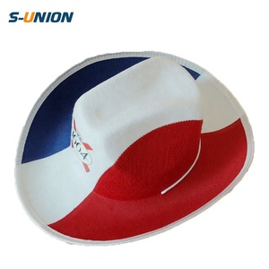 0acead78977bc6 Red White Blue Cowboy Hats, Red White Blue Cowboy Hats Suppliers and  Manufacturers at Alibaba.com