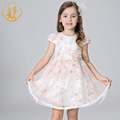 New Summer Dresses for Flower Girls Embroidery baby dress for wedding party