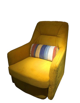 Yellow Color Modern High Back Single Seater Recliner Sofa For Sale Best  Designs Covered One Seat Sofa - Buy Modern Single Sofa,Single Recliner ...