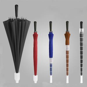 78b8ce3516ad chinese straight no drip umbrella rain umbrella with plastic cover
