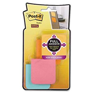 MMMF2208SSFM - Post-it 2x2 Super Sticky Full Adhesive Notes