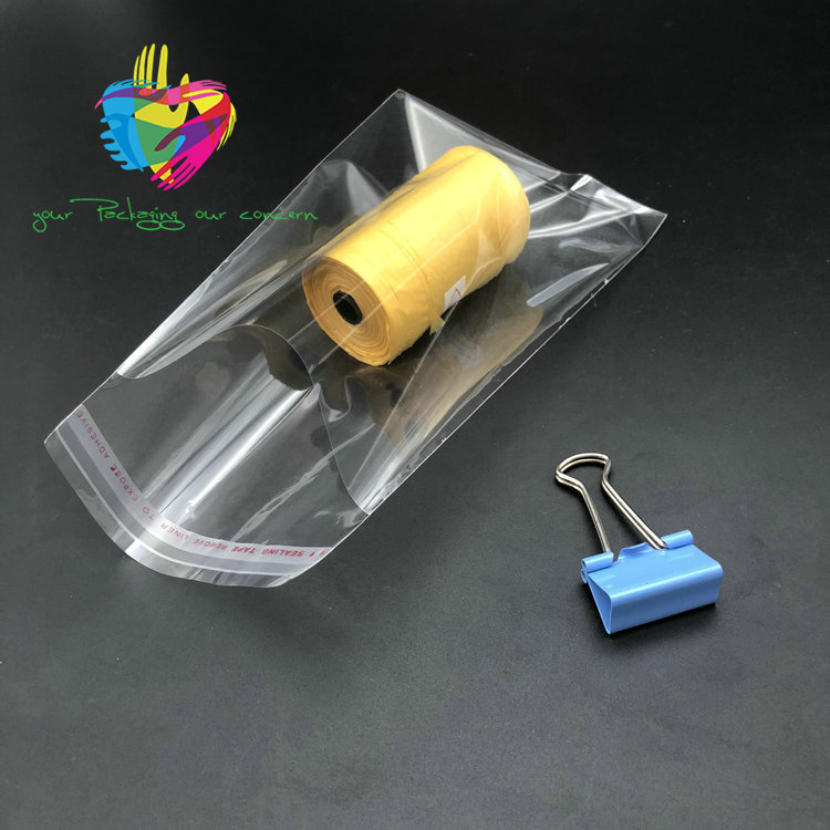 Clear high quality new product plastic bopp bag for <strong>packing</strong>
