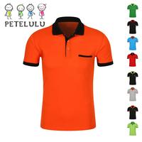 Guangzhou Factory With Pocket Children Boy Pique Tee Top Polo Shirt