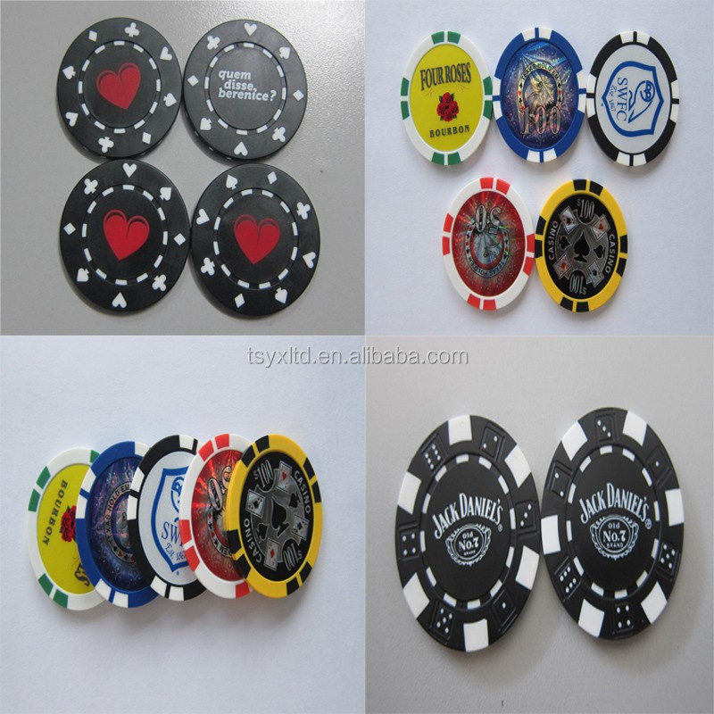 1000 pz argilla poker chip set