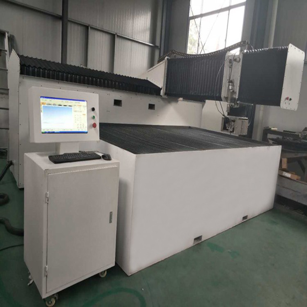 Waterjet 3 Axis Cnc Water Jet Cutting Machine For Cut Stonemetal Marblegl