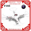 China model rc airplanes 2.4Ghz RC Flying Toy UFO 6 axis LCD Large rc quadcopter drones with video camera 2MP F183