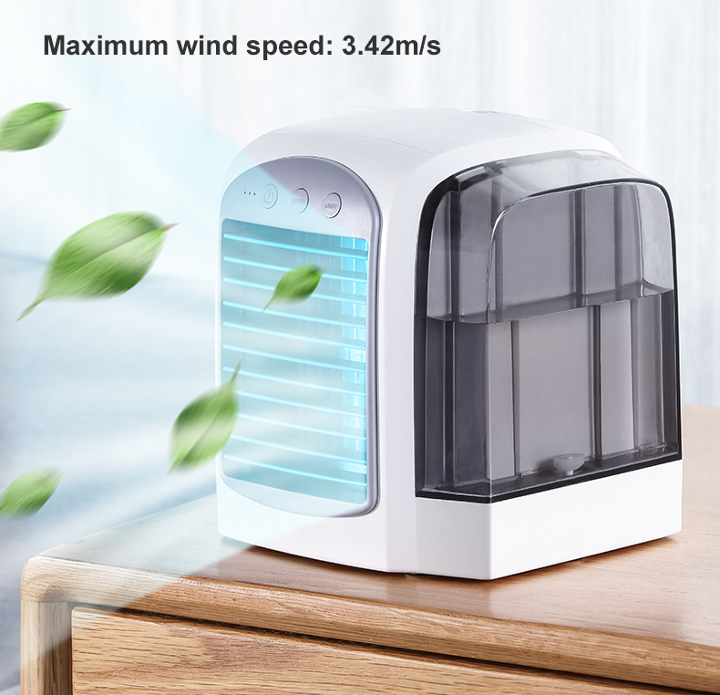 Usb Portable Air Conditioning Mini Air Cooler Fan Adding Water Mini Air Cooler