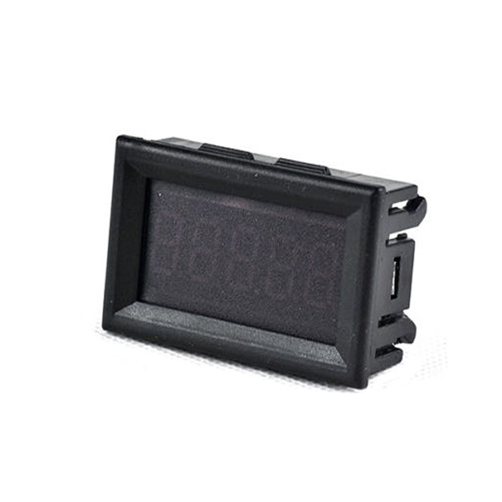 Tools Dc 0-99.9v Red Led Panel Digital Voltmeter Applied W/ Alarm Indicator Diy Power Supply Voltage Display Voltage Monitoring
