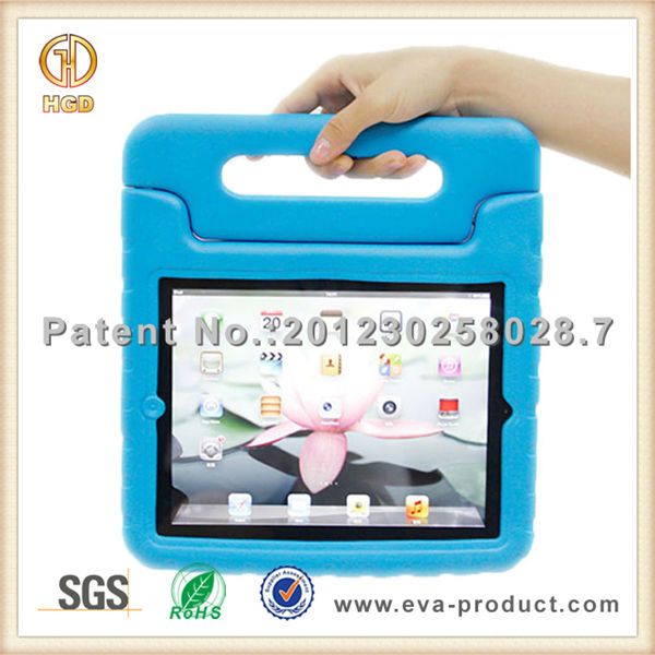 For Apple iPad 2/3/4 Kids Play Case With Stand Holder easy carrying cover for ipad tablet