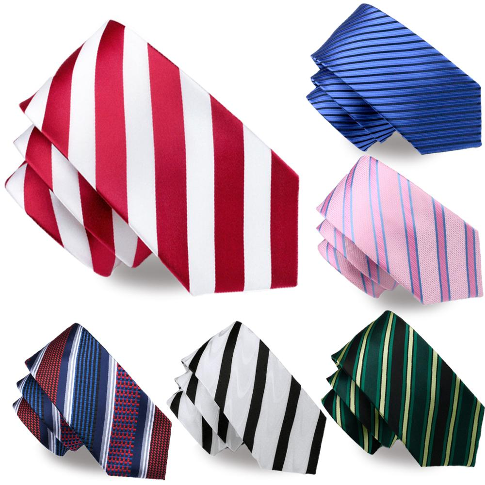 (Free Shipping) Wholesale Silk Mens Stripe <strong>Tie</strong> and Pocket Square Classic Woven Striped Necktie Set