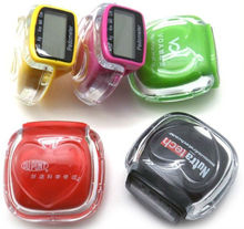 wristband pedometer ,pedometer and calorie counter,wristband calories pedometer