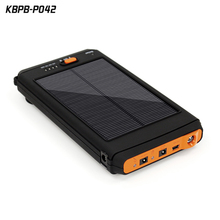 Newest Portable universal solar battery charger 120000mah high voltage laptop power bank