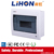 iron distribution box with Automatically open and lock plastic lid