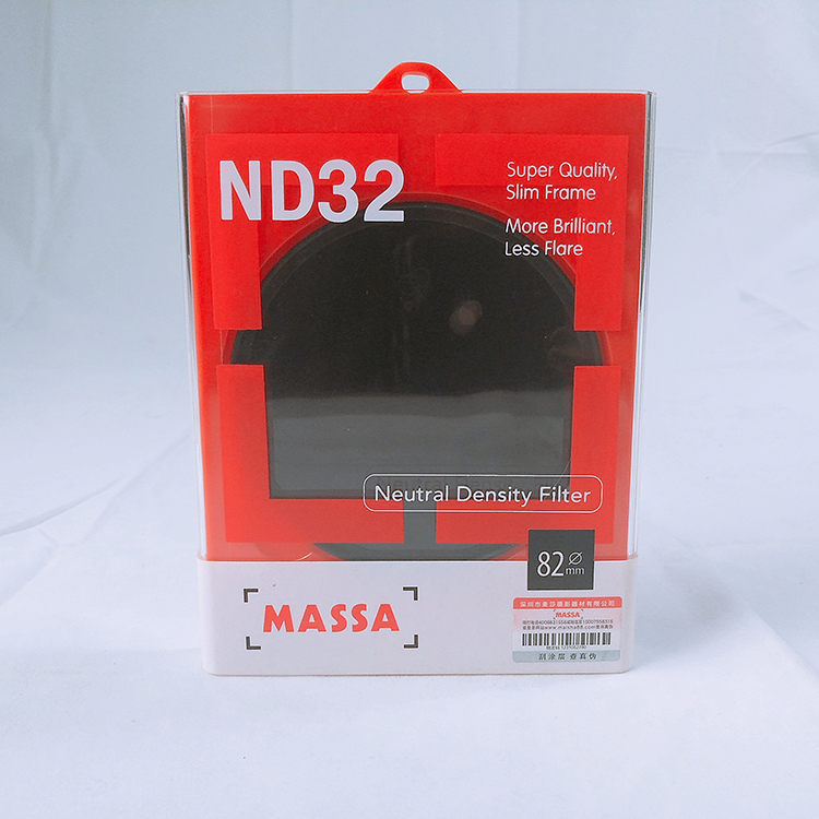 Massa 82 Mm Lensa Kamera SUPER SLIM Neutral Density 32 Filter