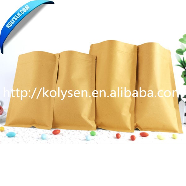 130*210 mm kraft/brown paper bag suitable for packing 300g <strong>rice</strong>/food