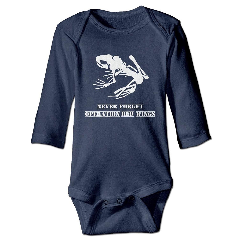 Buy Kids Baby Operation Red Wings Frog Skull Long sleeve Romper