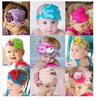 hairband kids baby product,feather flower hair elastic band