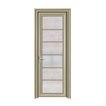 Smoked Single Aluminium Framed Interior Office Glass Doors Buy