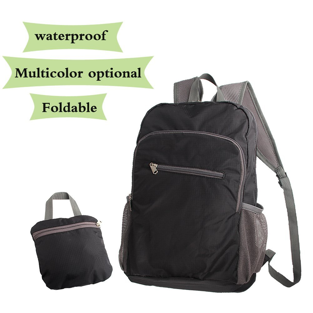 d0e105eaf8 Get Quotations · Lightweight Backpack Compact Bag Foldable Daypack Packable  Travel 20L Ultralight Water Resistant Durable for Hiking Camping