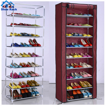 factory supplier 5 tiers bedroom funiture storage shoe rack cheap shoe cabinets