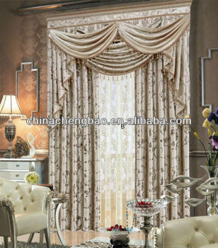 Elegant Bedroom And Living Room Cafe Curtain - Buy Curtains Living ...