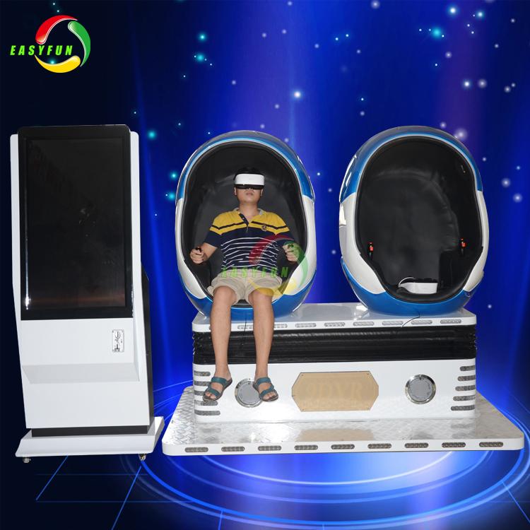 New Technology Virtual Reality Cinema Simulator Egg Chair 9D VR