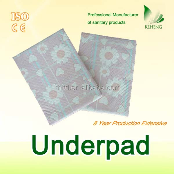 anti-skidding incontinence absorbent bed pad
