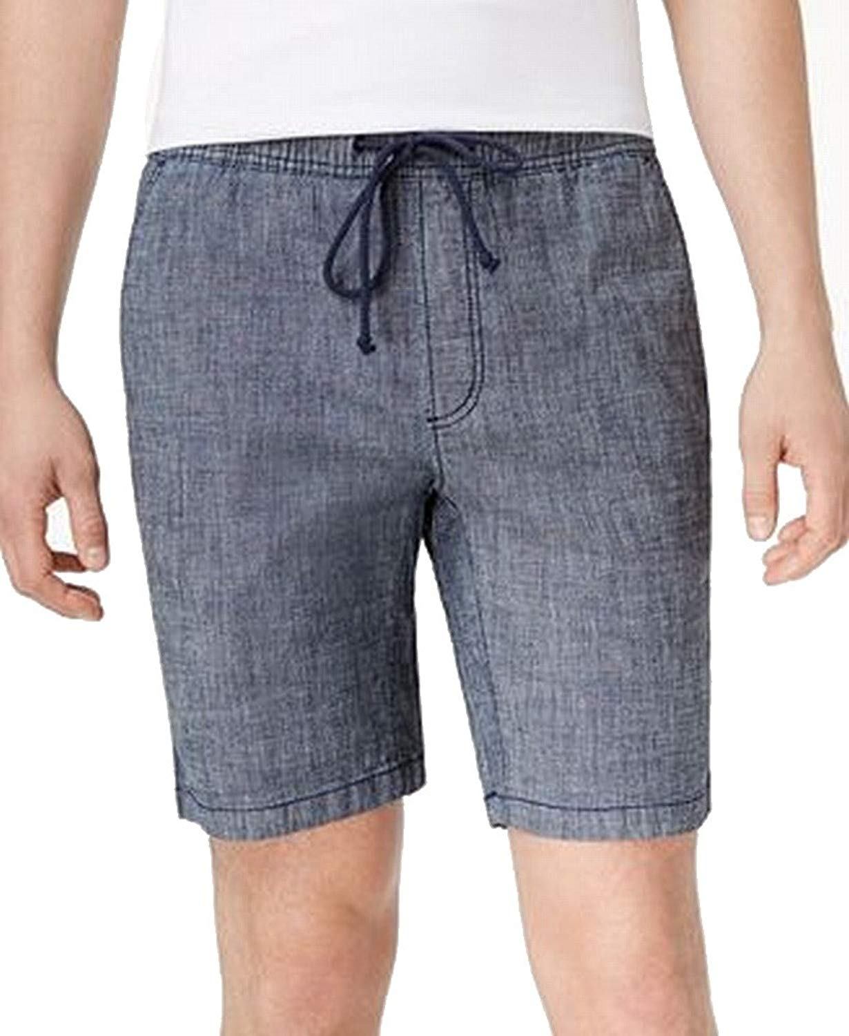 American Rag Mens Chambray Drawstring Casual Shorts